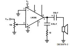 Lm386 Como projetar circuitos de amplificador com LM386 Circuitos Áudio