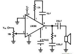 Lm386 Audio  lifier Circuit as well 386 Audio  lifier Circuit besides lificador De Audio LM386 in addition Lm386 O Pequeno Grande  lificador additionally 2 x 30 watt  lifier using LM4765 21303. on lm386n circuit