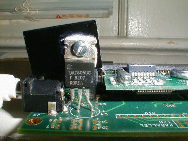 Fonte usando circuito integrado 7805