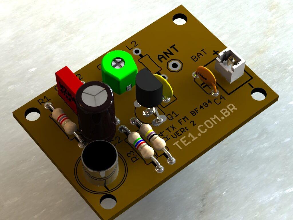 Transmissor de fm bf494