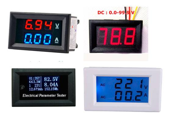 amperimetro voltimetro display led Fonte ajustável de 1.2 até 33V por 3A com CI LM350 Fontes Circuitos