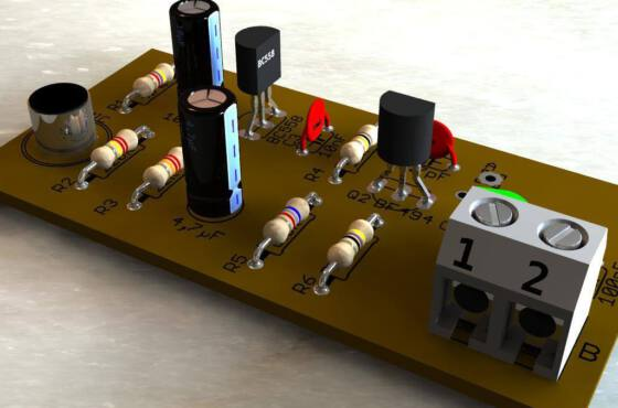 Micro transmissor fm transistor bf494