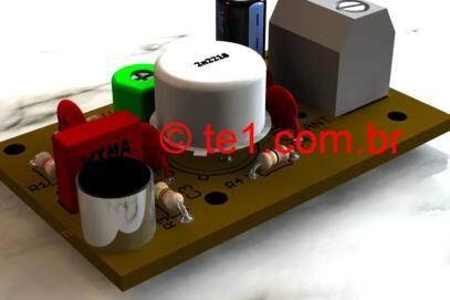 Circuito de transmissor fm potente com transistor 2n2218 até 1 km