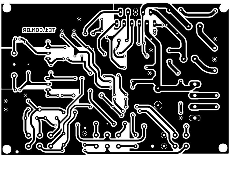 Tda2005 amplificador estereo controle tons pcb tda2005 amplificador tda2005 circuito potente amplificador estéreo