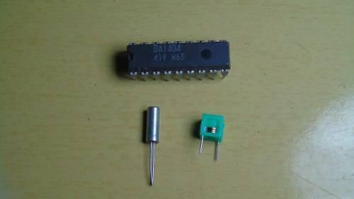, Circuito de transmissor de fm estéreo com ba1404 para MP3, ipod.