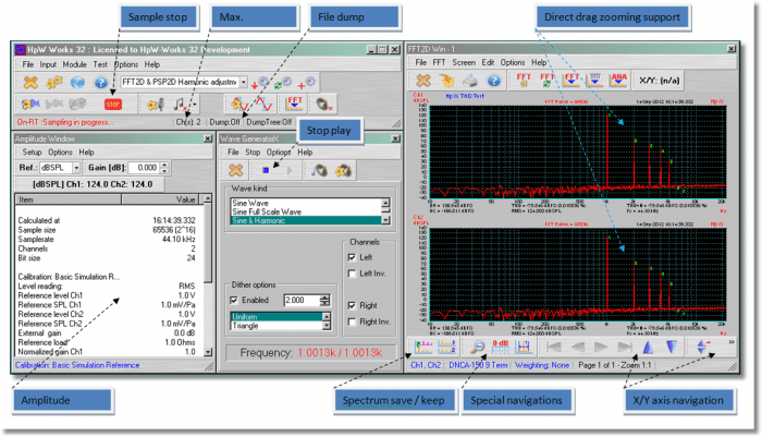 , Download Analisador de espectro HPW Works