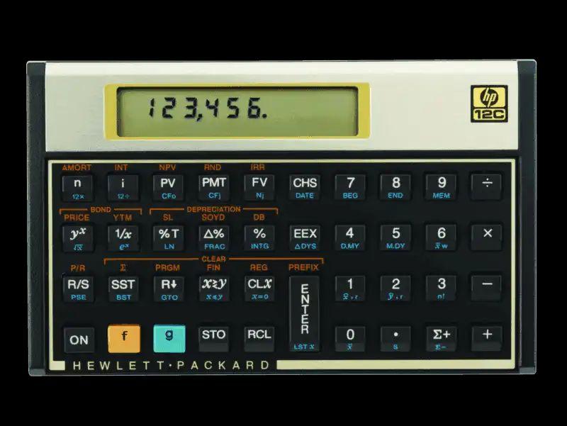 HP 12C Simulador da calculadora HP12c para PC Download Calculadoras