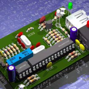 Baixar projetos de circuito impresso para Eagle – SCH e BRD