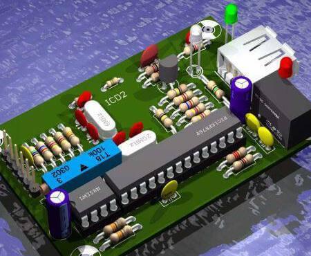 Downlaod Eagle Circuit Board Pronto Para Ser Editado No Programa Cadsoft Eagle