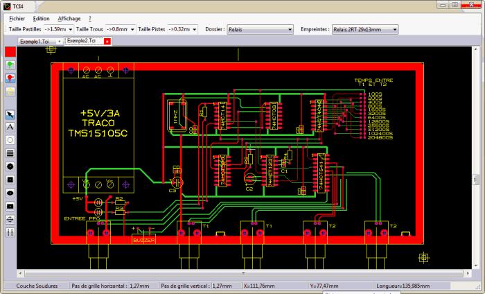 Trace CI pcb editor 700x424 Download Trace CI software CAD para PCB Download Desenho circuito impresso