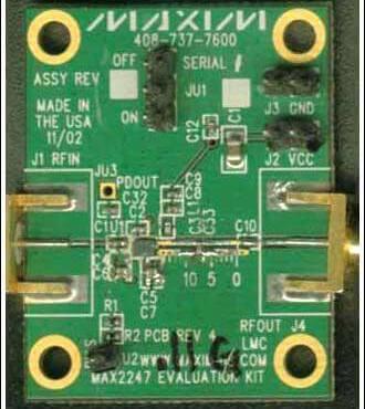 Amplificador de potência para redes 802