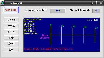 antenna 99 Download Programa para cálculo de antenas por vu2atm Download Calculadoras Antena