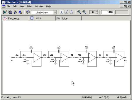 Filterlab é uma ferramenta de software inovadora que simplifica o projeto de filtro ativo