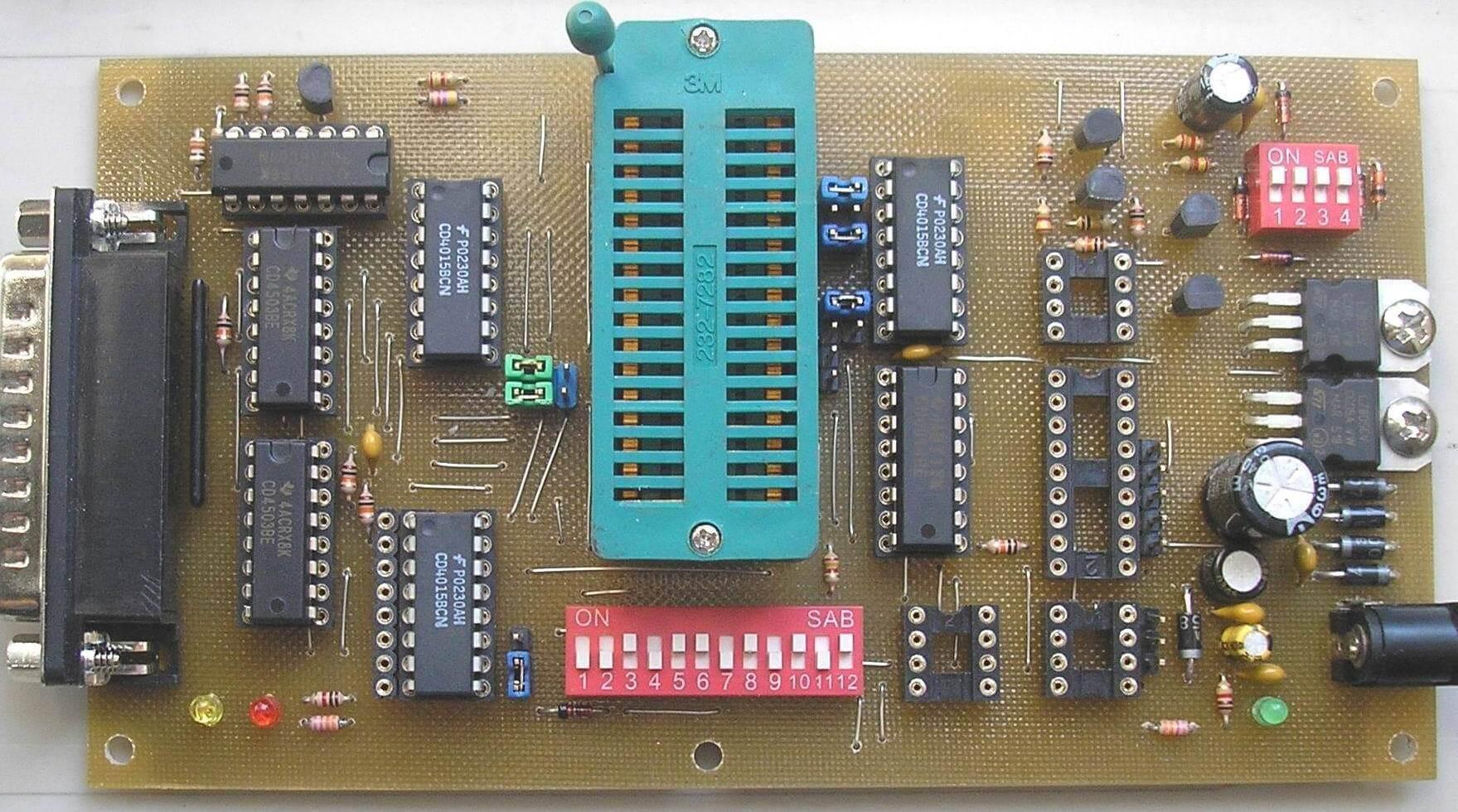 gravador eprom willem 3