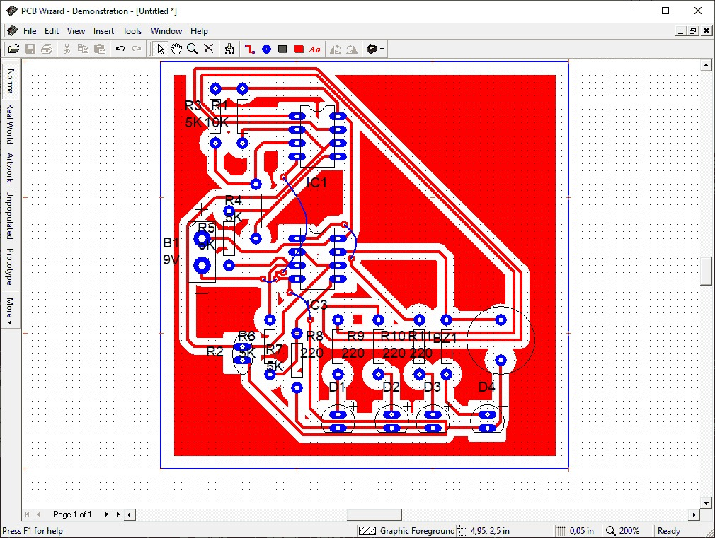 , Download PCB Wizard 3.6 Professional programa criação de PCI