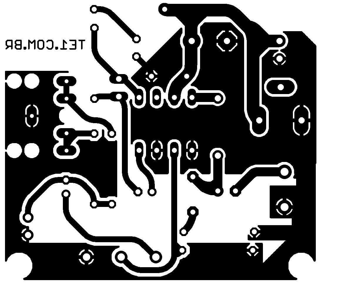 lm386 pcb amplificador placa Circuito de amplificador de áudio com CI LM386   inclui placa potência lm386 LM Circuitos Áudio Amplificador