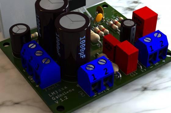Lm3886 Gainclone Amplificador Potencia Lm3886 Amplificador De Áudio Lm3886 Circuito Amplificador De Potência 68W