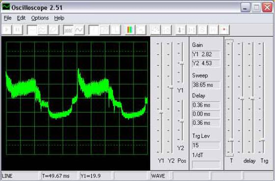 Oscilloscope for Windows v