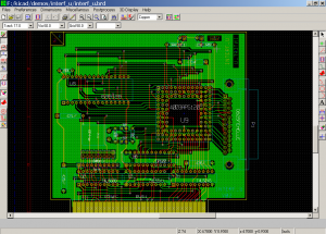 pcbnew sc english 300x215 Download Suite Kicad PCB layout editor Linux Windows e MAC   Gratuito Download Desenho circuito impresso