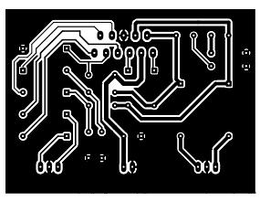 placa tda7294 Circuito amplificador estéreo com tda2004   10W placa de circuito impresso Circuitos Áudio