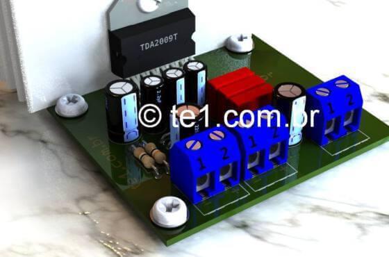 Tda2009-Amplificador-Potencia-Audio-Ponte