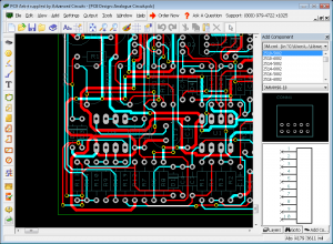 Screenshot do pcb artist