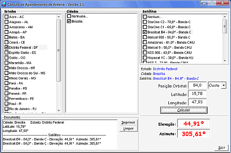 software century Download software de software de apontamento de antena Century Transmissores e RF Download Dicas Calculadoras apontamento de antena Antena