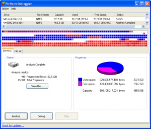 defraggler 300x256 Download Defraggler   Desfragmentador de disco rígido Essenciais Download