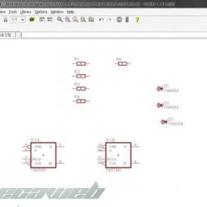 Eagle Layout Editor Aula Criando Circuito tutorial criar esquema – Parte 1