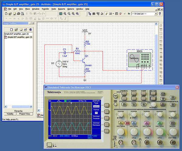 Download NI Circuit Design Suite Professional Multisim 11 free academic