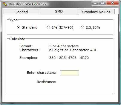 Resistor SMD coder full Download Resistor Color Coder   Resistor SMD e código de cores Teste e medida Essenciais Download Calculadoras