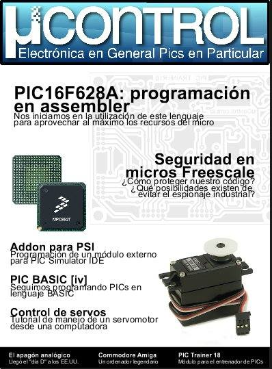 Revista ucontrol Numero 0005 microcontroladores pic asm