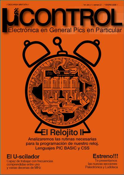 UCR002Portada Download Revista UControl 1 até 4 Tutorial revista placa de circuito impresso Pic Microcontroladores Download Dicas Apostilas
