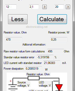 led-ressitor-calculator