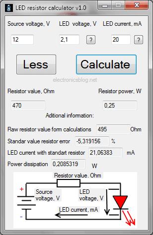 led-ressitor-calculator