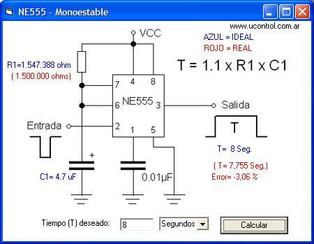 NE555 como Monostable