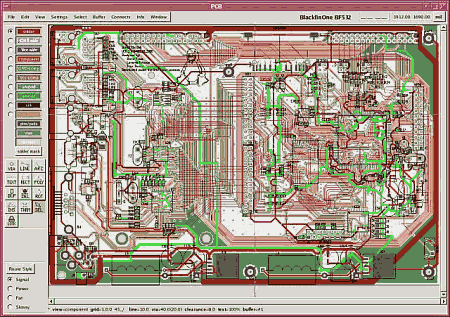 PCB software Open Source de criação de layout para Linux, NetBSD, Solaris
