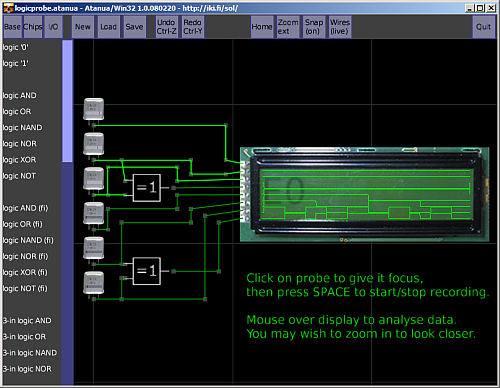 atanua logic simulator Download Atanua Simulador de lógica Booleana e eletrônica Vídeos Simulador Download Dicas