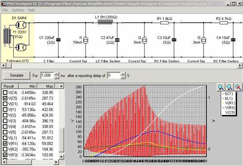 Vacuum-Tube-Amplifier-Power-Supply-Unit-Designer-Software
