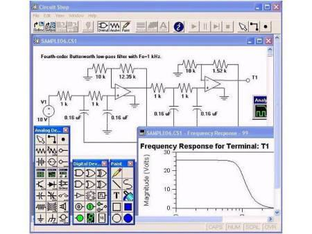 circuit shop Download Circuit Shop 3 software simulador de eletrônica Software de eletrônica Simulador eletrônica digital Download Desenho de esquemas
