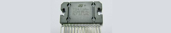 tda7386 Amplificador Simples 4x 30W com TDA7386 Áudio