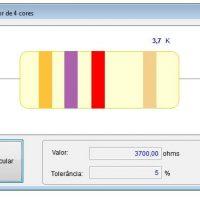 ACRISOFT RESSITOR codigo de cores