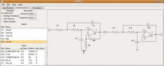 Download Mr. Filter Assistente para desenvolver filtros ativos analógicos