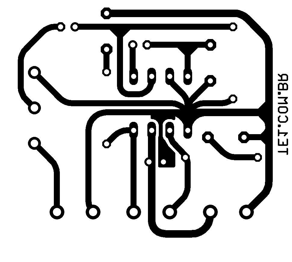 tda2822 ponte amplificador Amplificador de áudio em ponte (bridge) com CI TDA2822 tda Pré amplificadores Circuitos Áudio