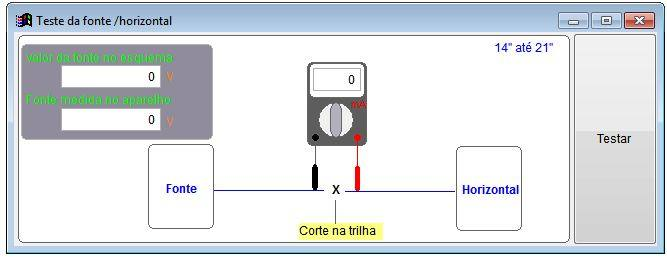 teste de saída horizontal Download Software Projeto Bancada Control ACrisoft Download