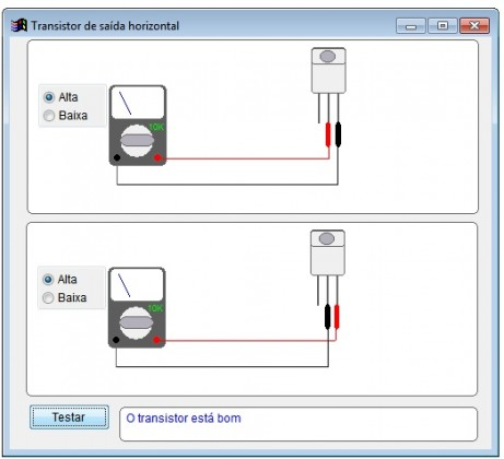teste transistor de saída horizontal 461x420 Download Software Projeto Bancada Control ACrisoft Download