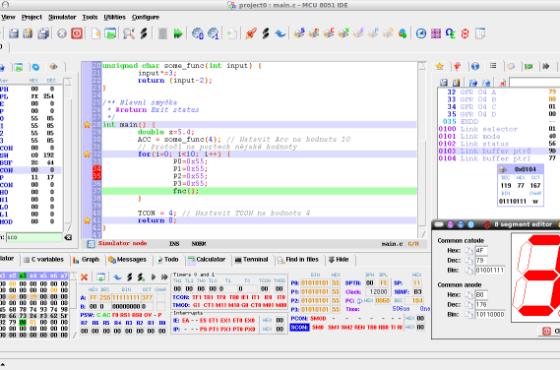 MCU 8051 IDE é uma nova e moderna IDE gráfica para microcontroladores baseados no 8051