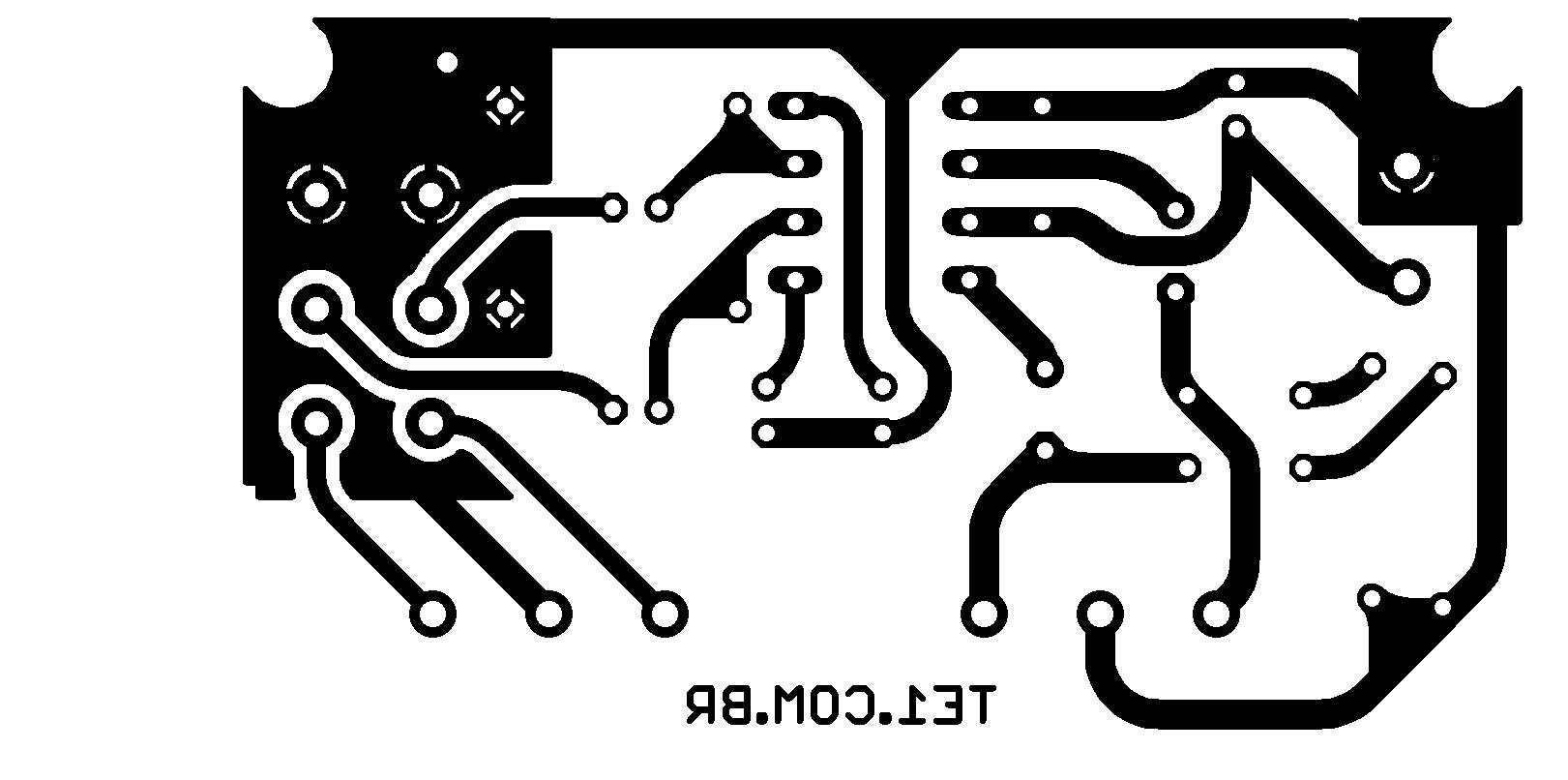 tda2822 amplificador placa Amplificador estéreo com CI TDA2822 com controle de volume 1W tda Circuitos Áudio