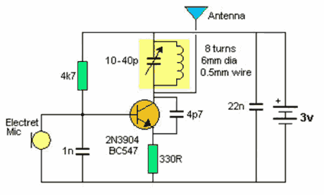 Bc547 Schematic Of A on raspberry pi led wiring