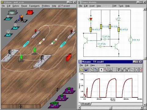 Download edson 4 Laboratório Multimídia que integra Circuitos e Diagramas Esquemáticos de Maneira Realista